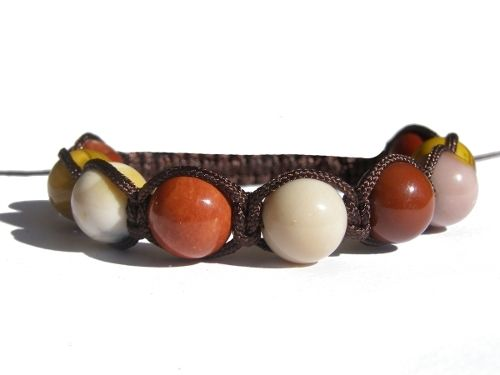 Zodiac Bracelet - Virgo #ZENstore Mookaite Shamballa Knotted Bracelet