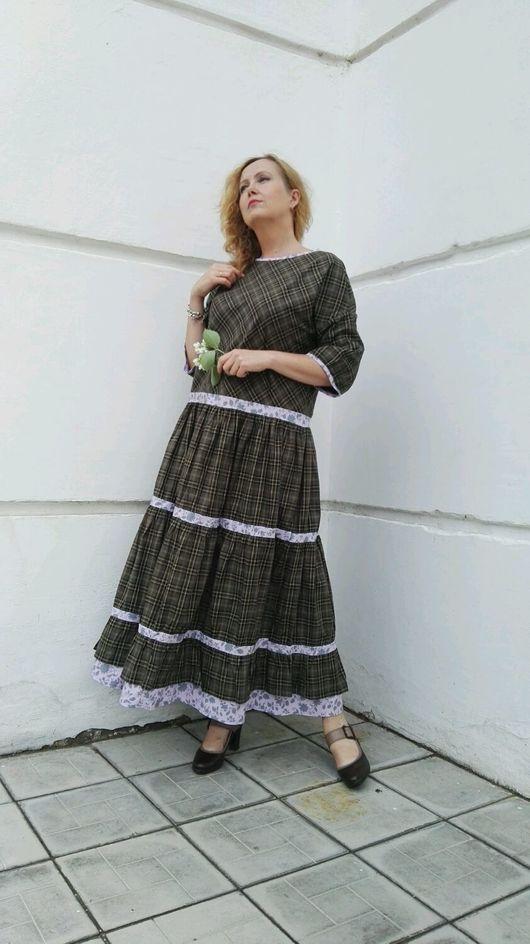Платья ручной работы. Длинное платье