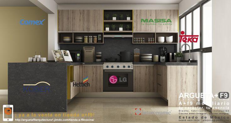 Diseño, Fabricación de Mobiliario y Cubiertas para Cocinas Integrales Ahora en Realidad Aumentada | Ideas Diseño de Interiores