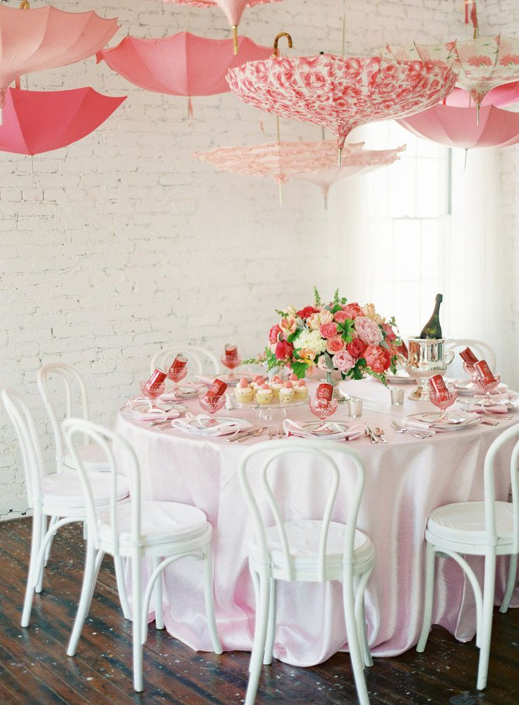 pink baby shower from karson butler events and anne robert photography