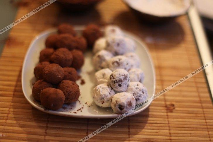 Шоколадные конфеты ручной работы пошаговый рецепт с фото