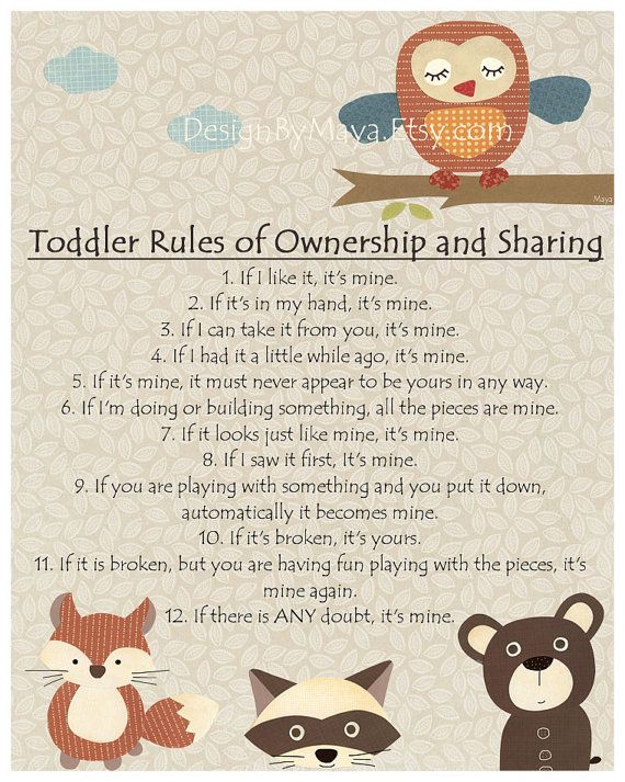 Baby boy room decor, Raccoon, fox, bear, brown, tan, cream, Toddler Rules of Ownership and Sharing, Woodland forest animals, carters
