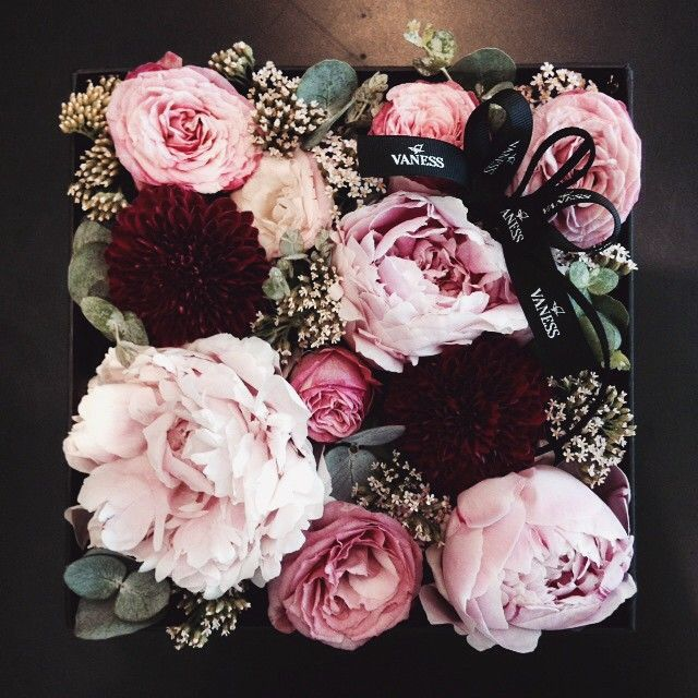 flowers in a box!! …