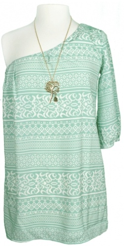 Cute: Fashion, Mint Green, Style, Cute Dresses, Minty Fresh, One Shoulder, Green Dress, Shoulder Dresses, Dreams Closets