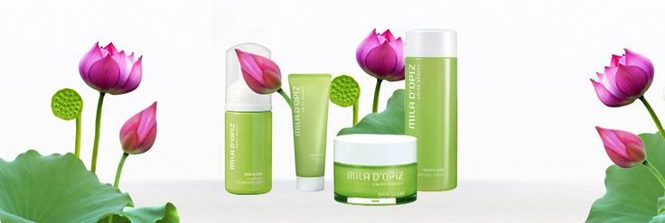 Mila d'Opiz Australia - Skin Clear. Swiss Purifying Care. The ideal solution for skin with problems. Specifically developed for impure or large pore skin, the Skin Clear Range helps achieve a clearer and fresher complexion.