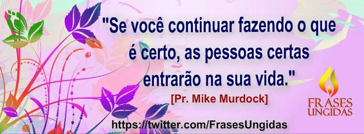 Frase Do Pr. Mike Murdock.