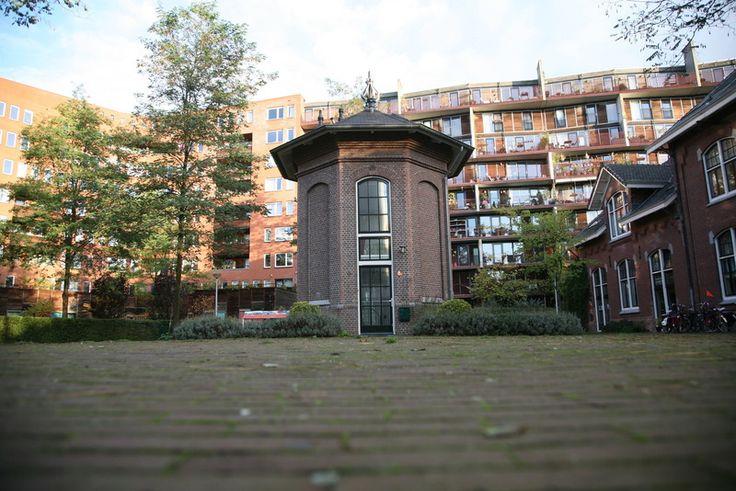 Overnachten in een torentje in hartje Amsterdam - OrigineelOvernachten.nl