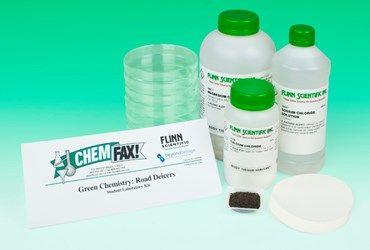 Road Deicers Green Chemistry Laboratory Kit developed with Beyond Benign