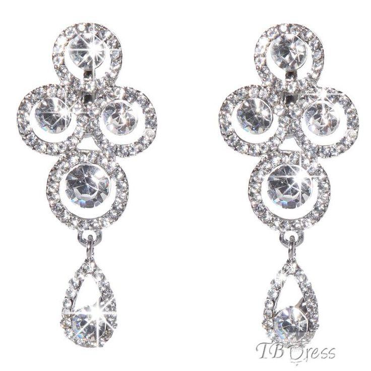 Gorgeous Diamond Western Women Earrings
