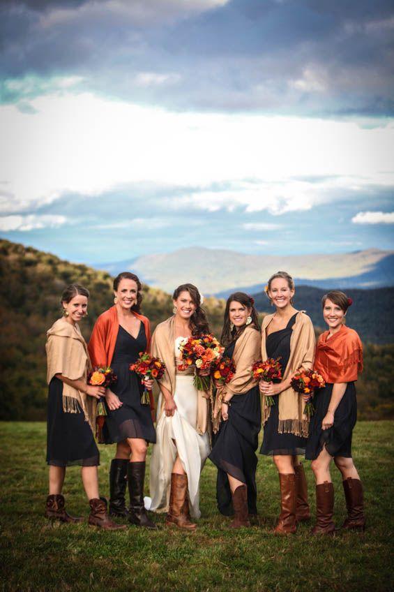 Favorite Fall Bridesmaid Dresses