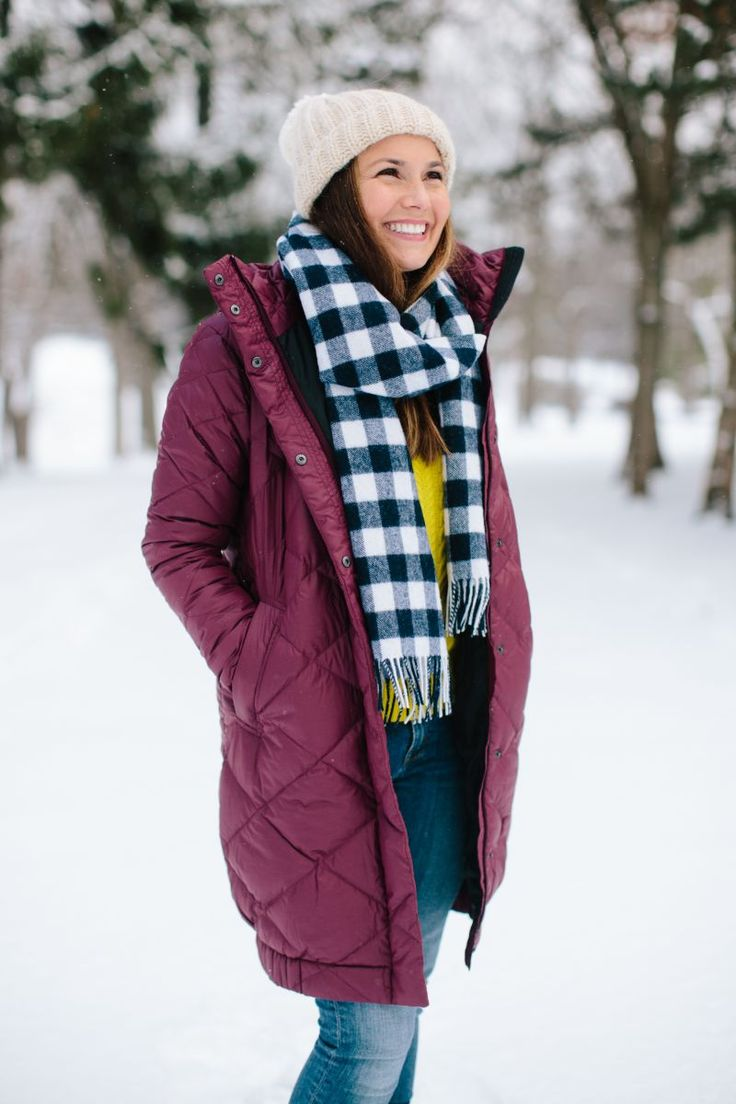 How to Style Your Winter Puffer Coat  #theeverygirl