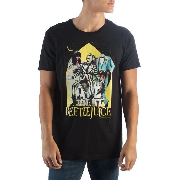 Beetlejuice Black T-Shirt http://purrr.co/products/beetlejuice-black-t-shirt