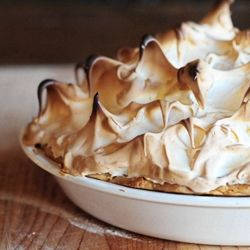 Grandma's Chocolate Cream Pie with Perfect Meringue