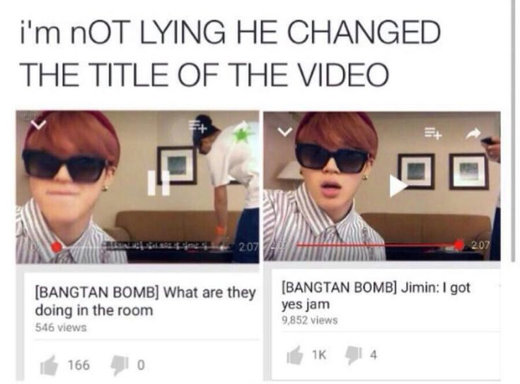 Jimin, you still got no jams -- one of my fave bangtan bombs cx