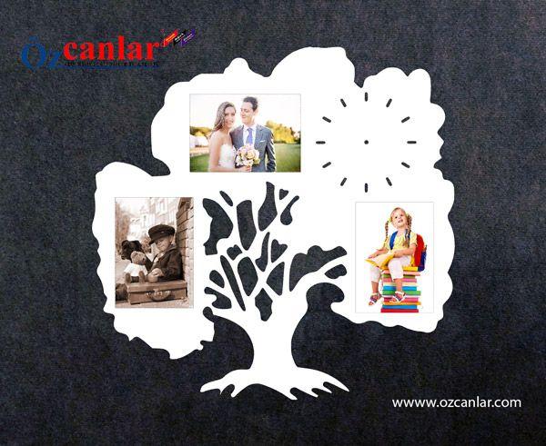 #saat #soy_ağacı #çoklu #çerçeve #fotoğraf #çerçevesi #multi #frame #resim #family #tree