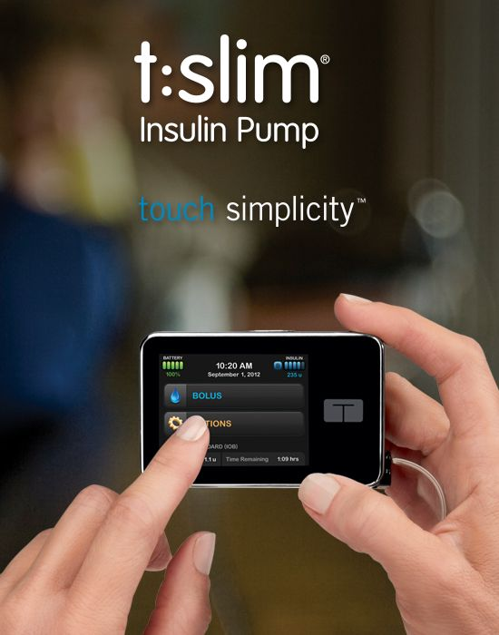 t:slim Insulin Pump ǀ Insulin Infusion Pump for Diabetes