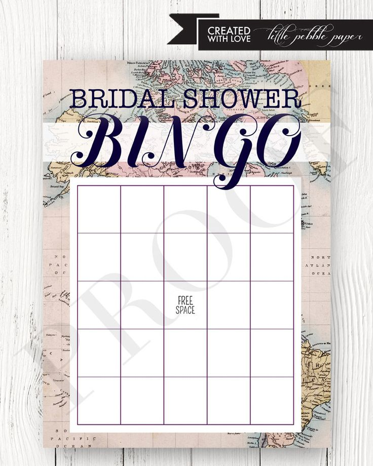 Travel Bridal Shower Bingo, Around the World Bingo, Bridal Shower Bingo Game, Printable, Globe, World Shower Theme, Travel Bingo by LittlePebblePaper on Etsy https://www.etsy.com/listing/451102612/travel-bridal-shower-bingo-around-the