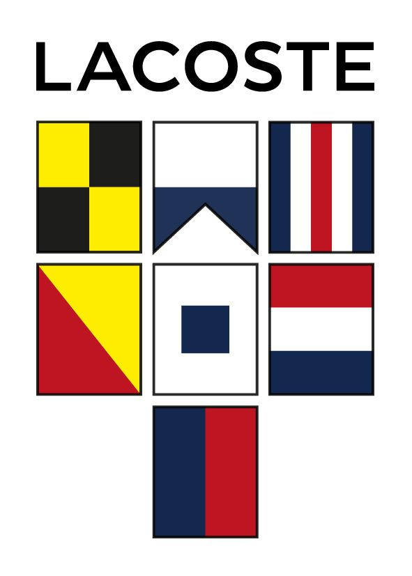 #CodeYourLife with the #Lacoste Maritime Alphabet Translator www.lacoste.com/codeyourlife/