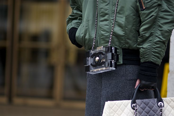 Chanel lego bag NYFW | An Unknown Quantity | New York Fashion Street Style Blog by Wataru Bob Shimosato | ニューヨークストリートスナップ
