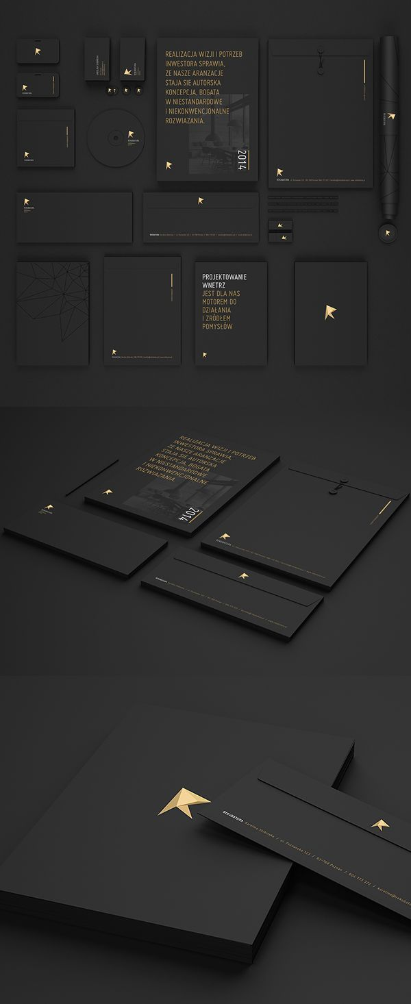 Black is more than bold, dark, and gloomy. Black is truly an iconic hue navigating through bright and dark colors. Whatever or whenever black is expose it exemplifies both rich and pure. What a hue and how new does it make an outstanding corporate identity stands out, well just visualize.