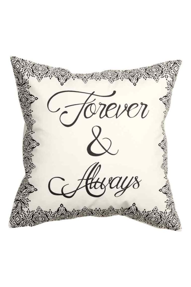 Patterned cushion cover   H&M