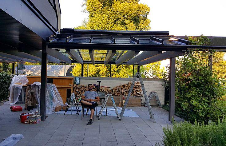 25 besten terrassendach glas berdachung bilder auf pinterest balkon bielefeld und fenster. Black Bedroom Furniture Sets. Home Design Ideas