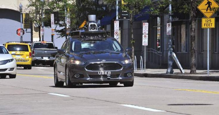#Selfdriving #Uber vehicles spotted on the streets of #SanFrancisco