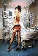 Show Top/gloves/miniskirt/garter - Md/lg Total Erotica Shop totaleroticashop.com