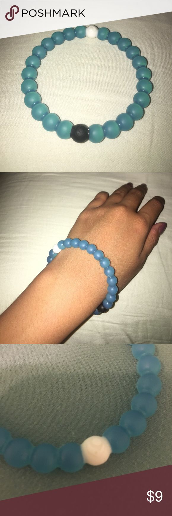 REAL Blue Lokai Bracelet when purchased, profits went to provide clean water to needy parts of the world. Lokai Jewelry Bracelets