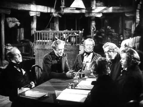 Scrooge (1951) with Alastair Sim - My most favorite Scrooge! Watch from 1:12 minutes and 7 seconds - unless you want to watch the whole movie.