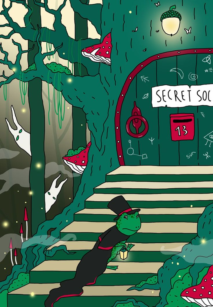Mister Frog and The Secret Society Art