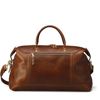 Leather Satchel Carry-On Bag - Distressed Leather | J.W. Hulme Co.