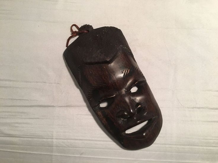 Hand Crafted Wood Mask Decor – Male Face  (M15) in Home & Garden, Home Décor, Wall Sculptures | eBay!