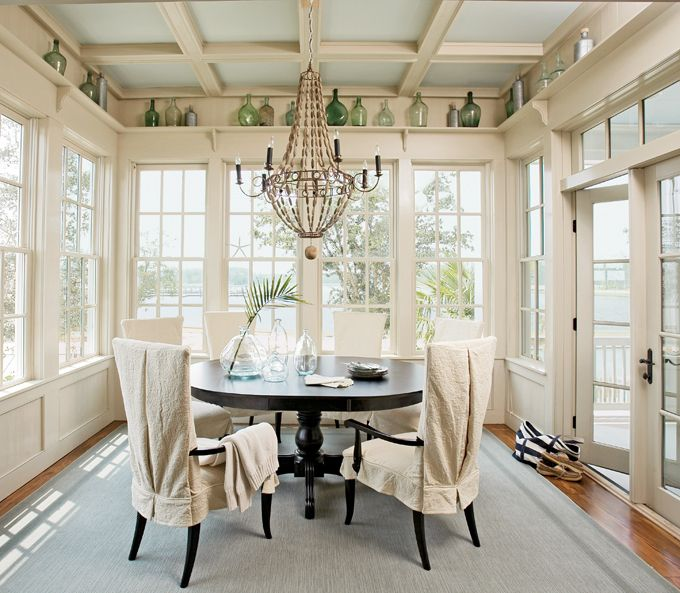 coastal dining area | Tammy Connor & Historical Concepts