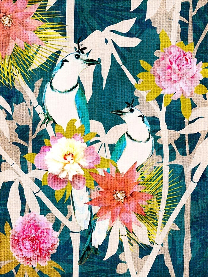 sweet chinoiserie wall art   cozamia.   Just Interesting ...