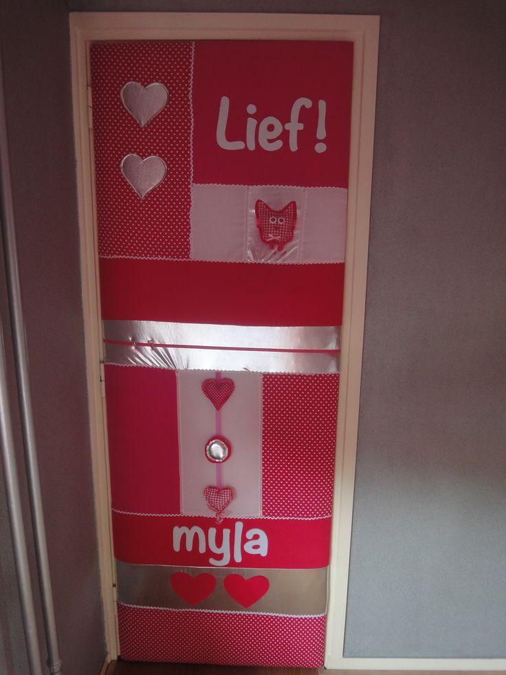 Deurbekleding Myla!
