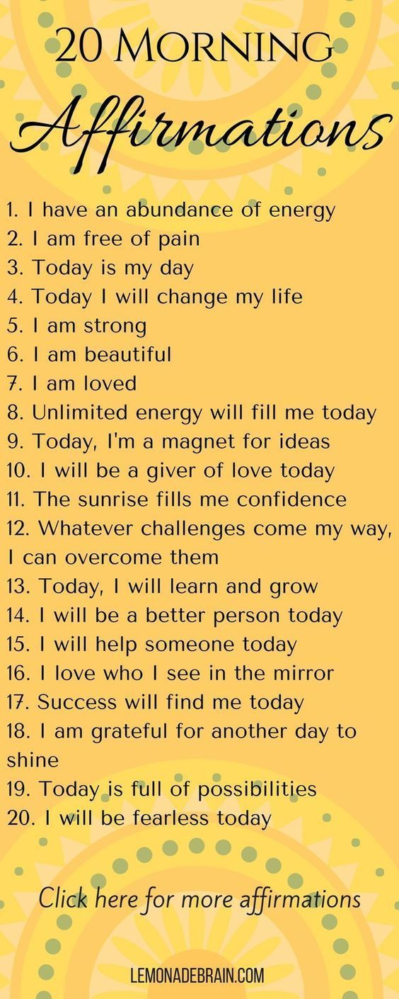 Affirmations: At the Beginning, Middle and End of your day I am a crazy bad A Mo… – Sherri-Lynn Cox