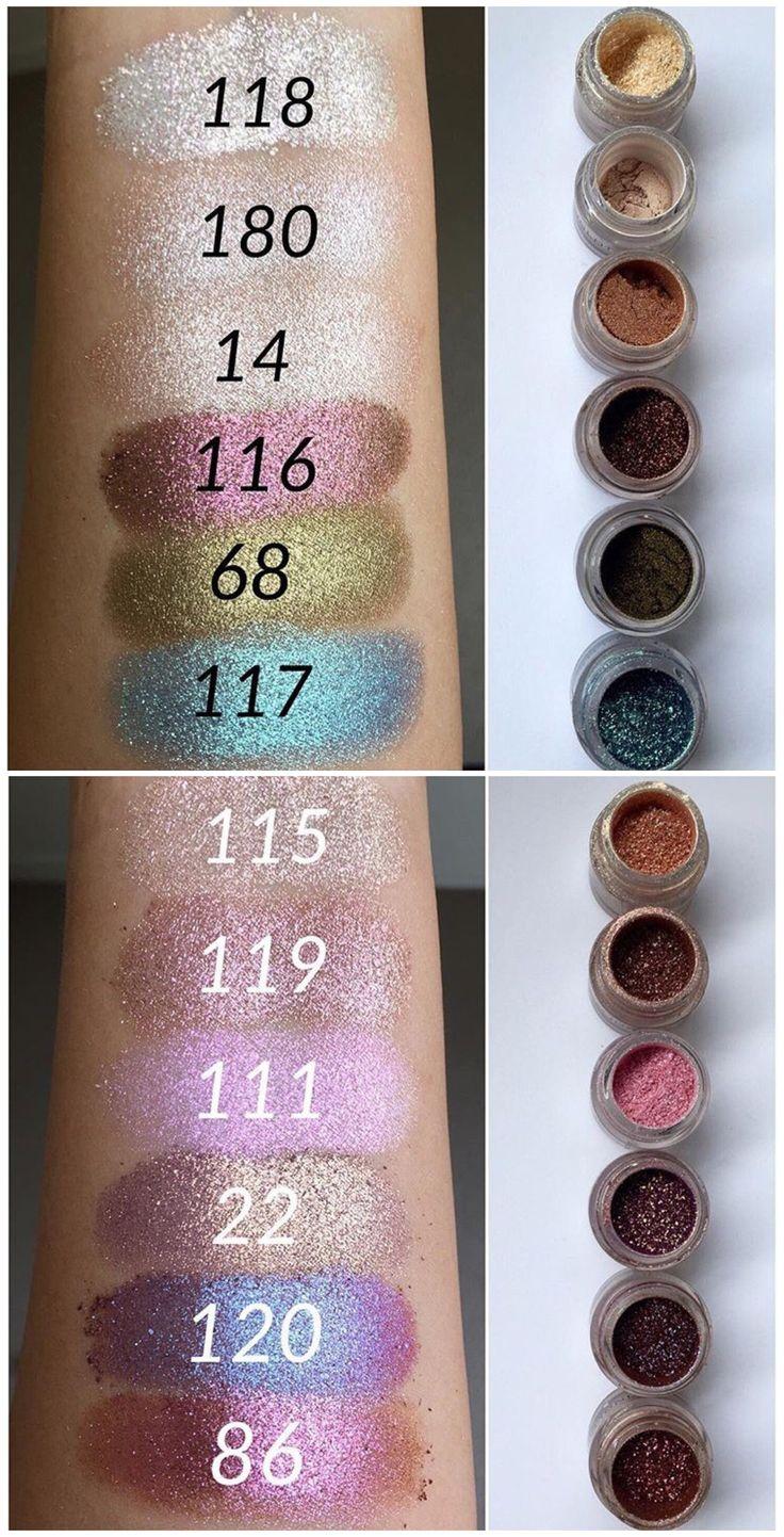 Inglot pigments                                                                                                                                                      More