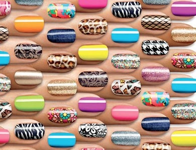 60 best nail art images on pinterest nail designs nail art and these are sally hansan stick on nail polish it is sooo easy and they have prinsesfo Gallery