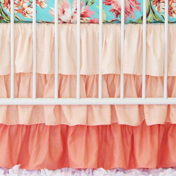 1000 Ideas About Ruffled Crib Skirts On Pinterest Crib