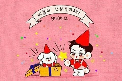 """255 lượt thích, 1 bình luận - Exo Fanart Page (@exo__fanart) trên Instagram: """"Happy Sehun Day #happysehunday #exo #sehun #birthday #exosehun #fanart #sehunfanart #exofanart…"""""""