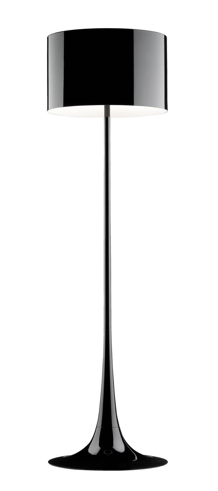 Modern white floor lamp - Flos Spun Light F Floor Lamp