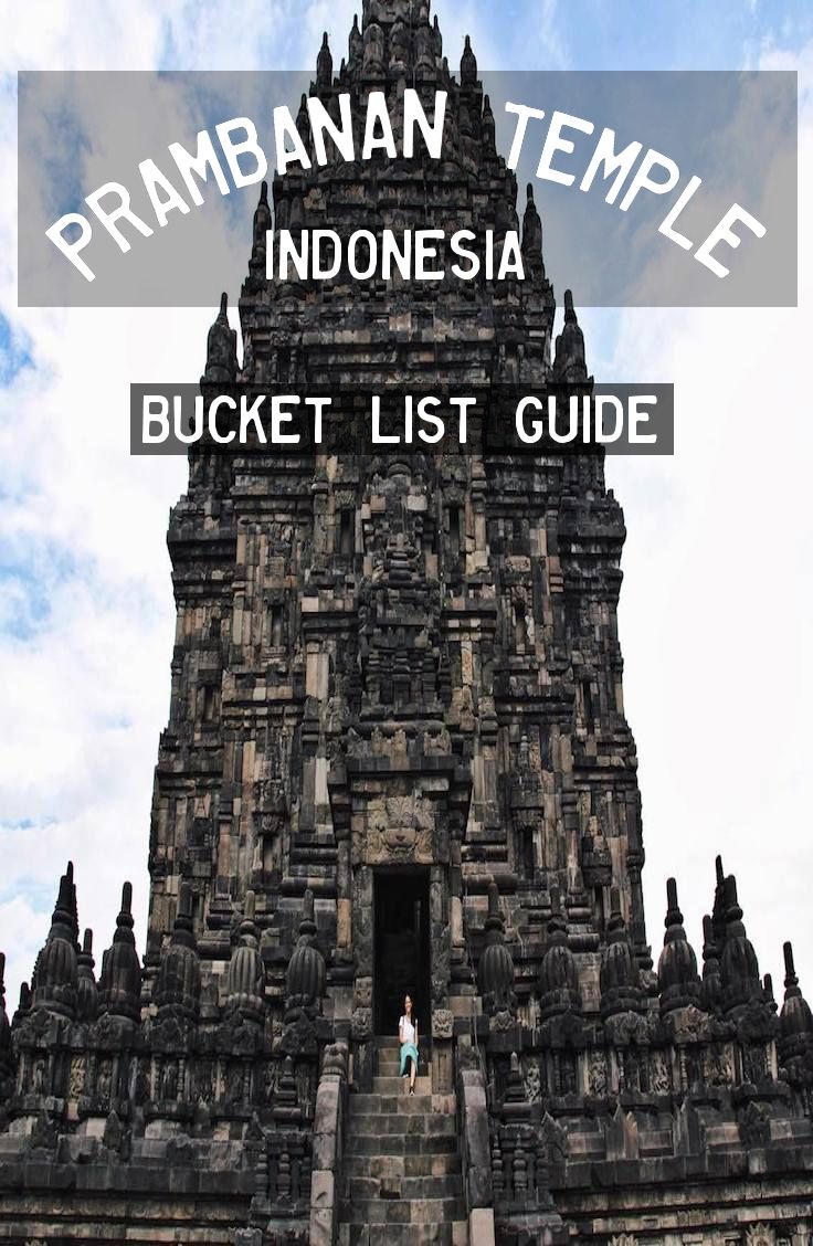 Complete guide to the UNESCO World Heritage Site outside Yogyakarta, Indonesia.