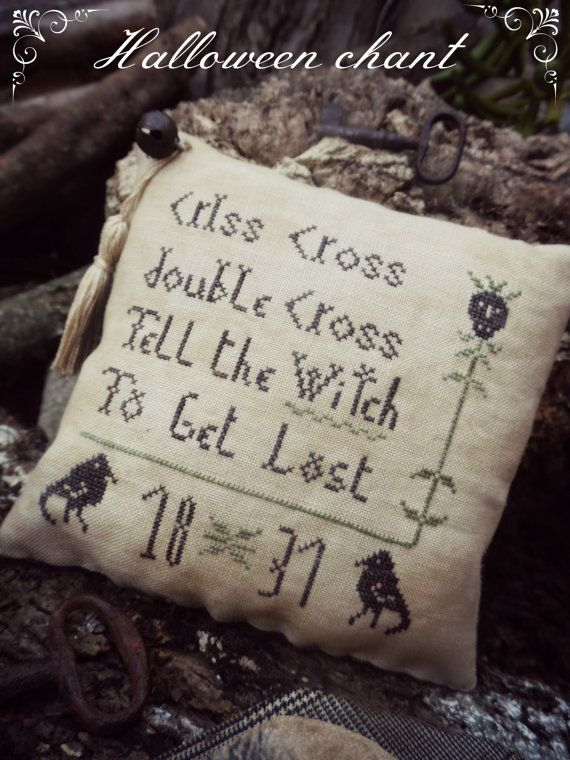 17 Best Images About Cross Stitch Fall Or Halloween On