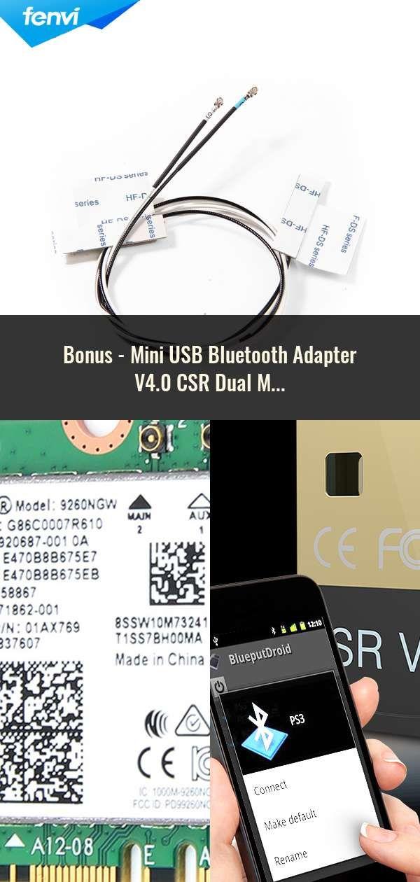Mini USB Bluetooth Adapter V4 0 CSR Dual Mode Wireless Bluetooth