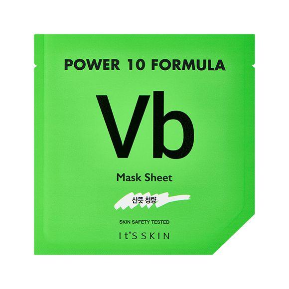Power 10 Formula VB Маска тканевая с витамином В6, 200.00 руб.   Тканевая маска для поддержания баланса влажности, для создания чистой кожи лица.    Тканевая маска из плотной мягкой микроволоконной ткани, пропитаннойcилой 10 высокообогащенных эссенций, каждый день снимает беспокойства Вашей кожи, подходит для каждого типа кожи.  По сравнению с обычным волокном, в 150 раз более тонкое микроволокно (1.51 микрон) маски плотно прилегает к коже, эффективно передает все полезные качества…