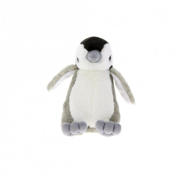 Emperor penguin chick soft toy   Penguin toys and gifts   Natural History Museum Online Shop