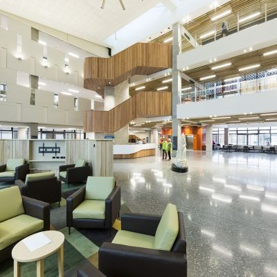 Burwood Hospital Redevelopment project   Leighs Construction Photo Credit   BFG Furniture