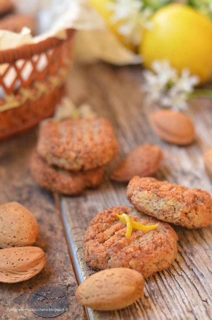 Biscotti Alle Mandorle Al Profumo Di Limone Senza Zucchero Senza Grassi Senza Farina