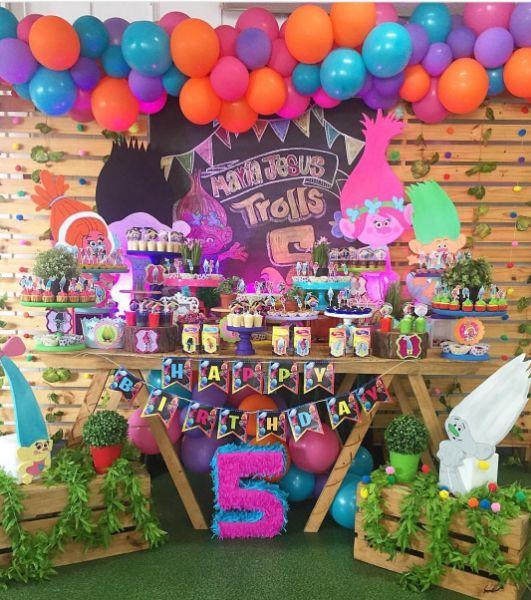 101 fiestas 20 originales fiestas de trolls cunples - Fiestas cumpleanos originales ...